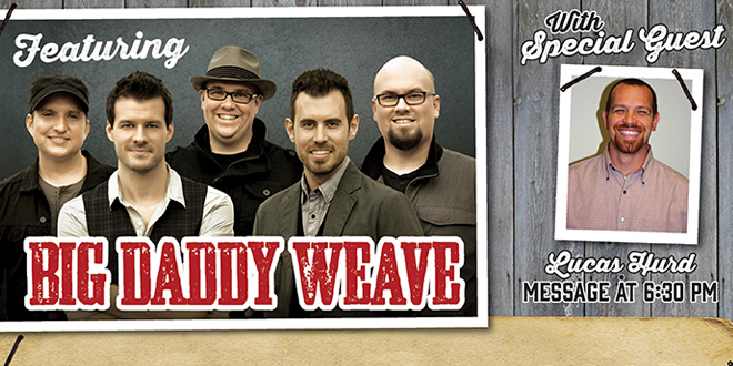 Midweek Retreat with Big Daddy Weave at Tennessee Valley Fair