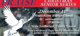 Praise 96.3 Christmas Senior Series on December 11th