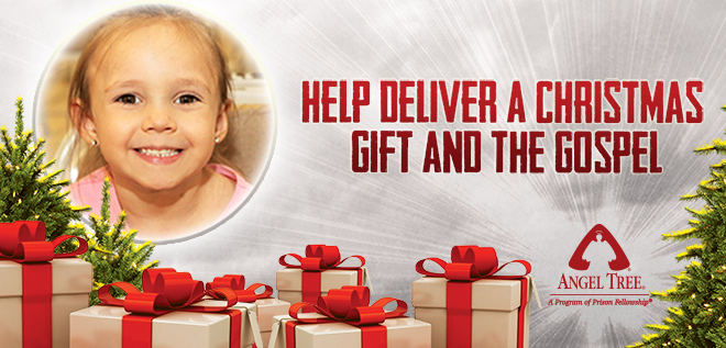 Give a Gift and the Gospel to a Child this Christmas with Angel Tree