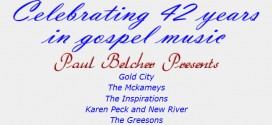 Concert: Celebrating 42 Years in Gospel Music!