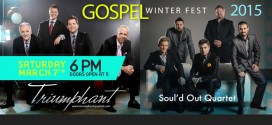 Gospel Winterfest w/ Triumphant Quartet and Soul'd Out