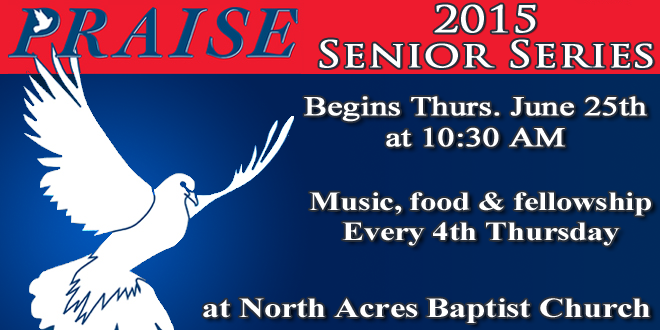 2015 Senior Series – It's Coming!
